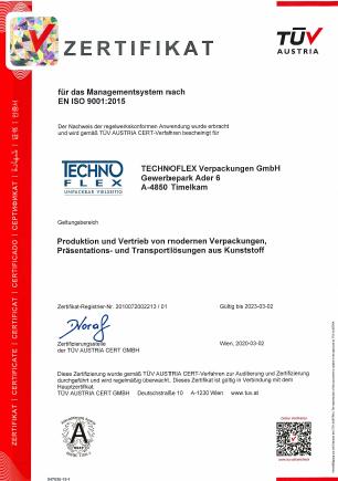 ISO-Zertifizierungen 1