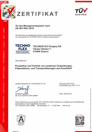 ISO-Zertifizierungen 5