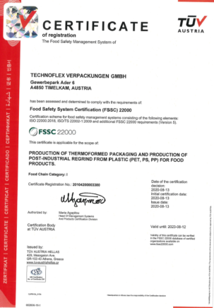 ISO certifications 3